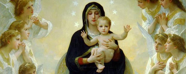 Maria e i Santi